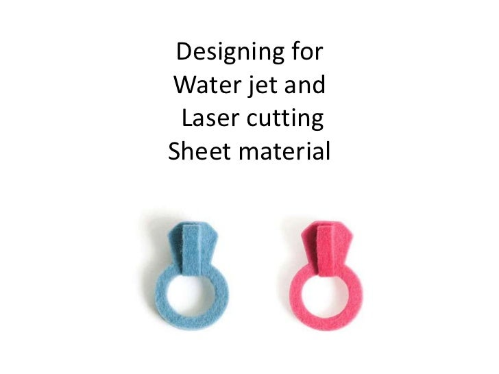 Designing forWater jet and Laser cuttingSheet material