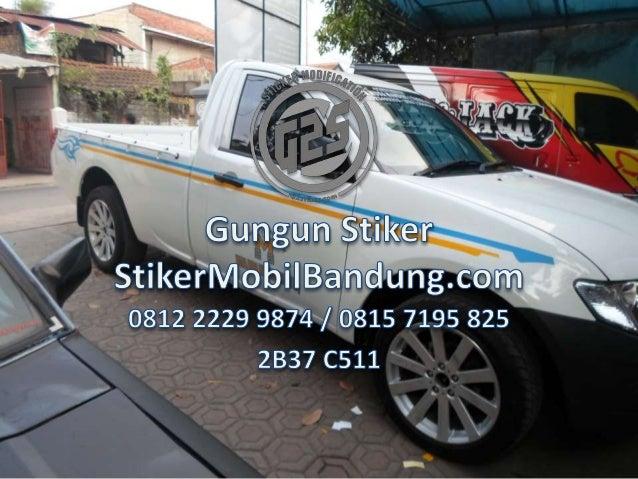 740 Gambar Cutting Sticker Mobil Pick Up Terbaru