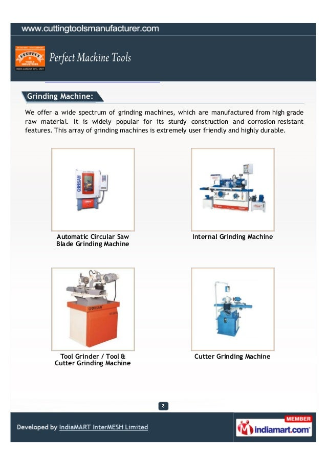 Perfect Machine Tools, Ahmedabad, Planning Roll Slide 3