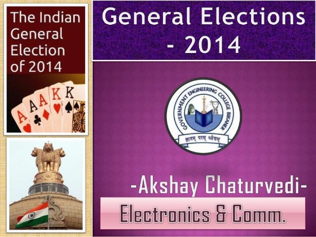  The 2014 general election is taking place in nine phases in India, the longest election in the country's history, from 7...