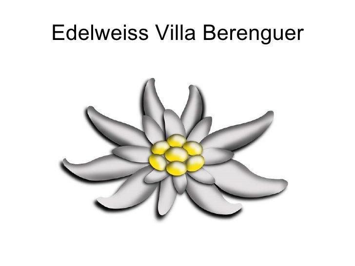 Edelweiss Villa Berenguer