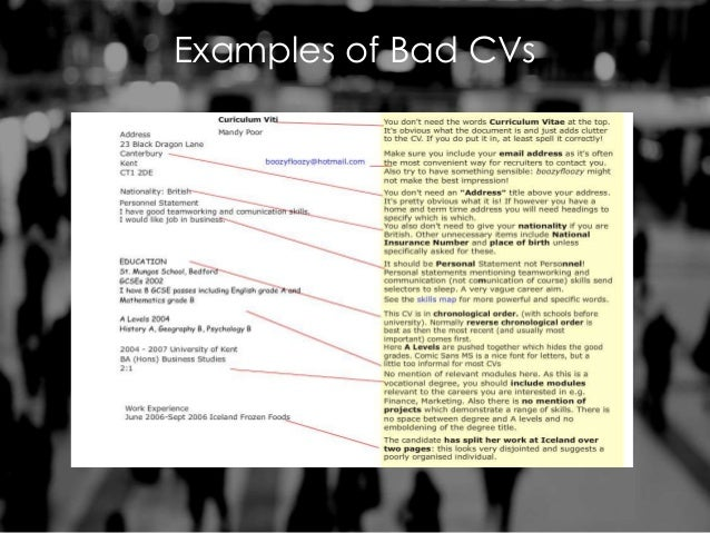 how to create a stand out cv