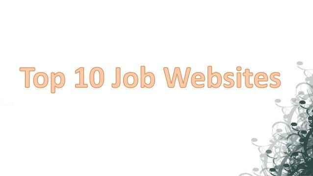 top employment websites