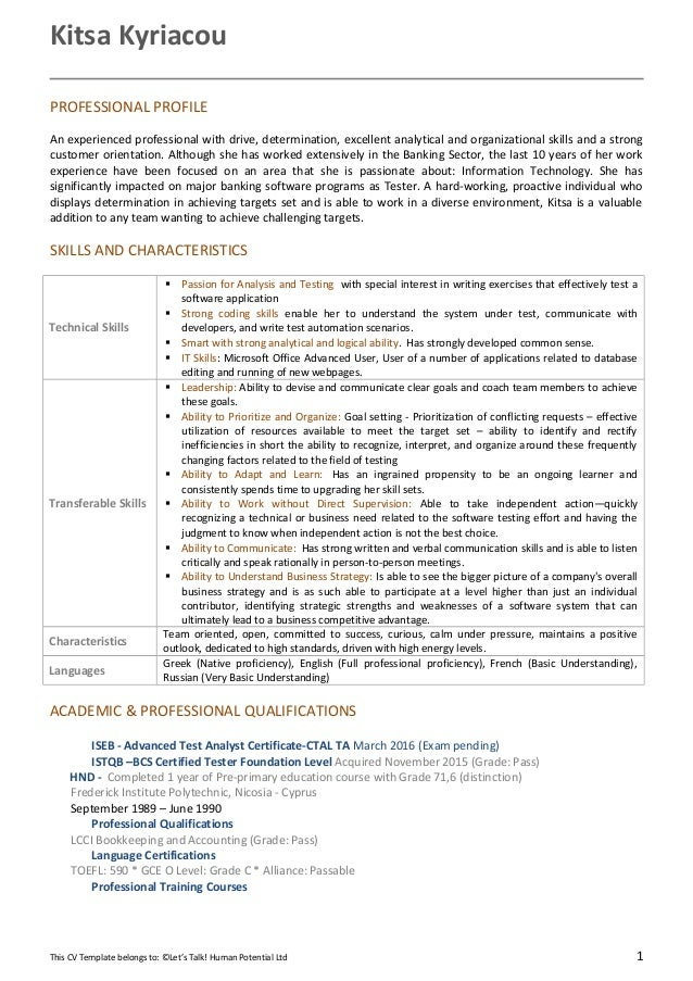 bookkeeping cv - Ecza.solinf.co