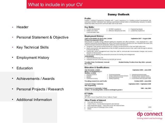 CV Writing Tips for Graduates