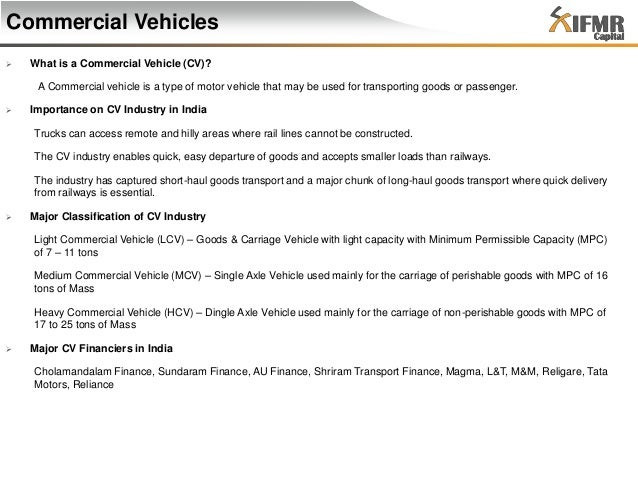 indian commercial vehicle industry