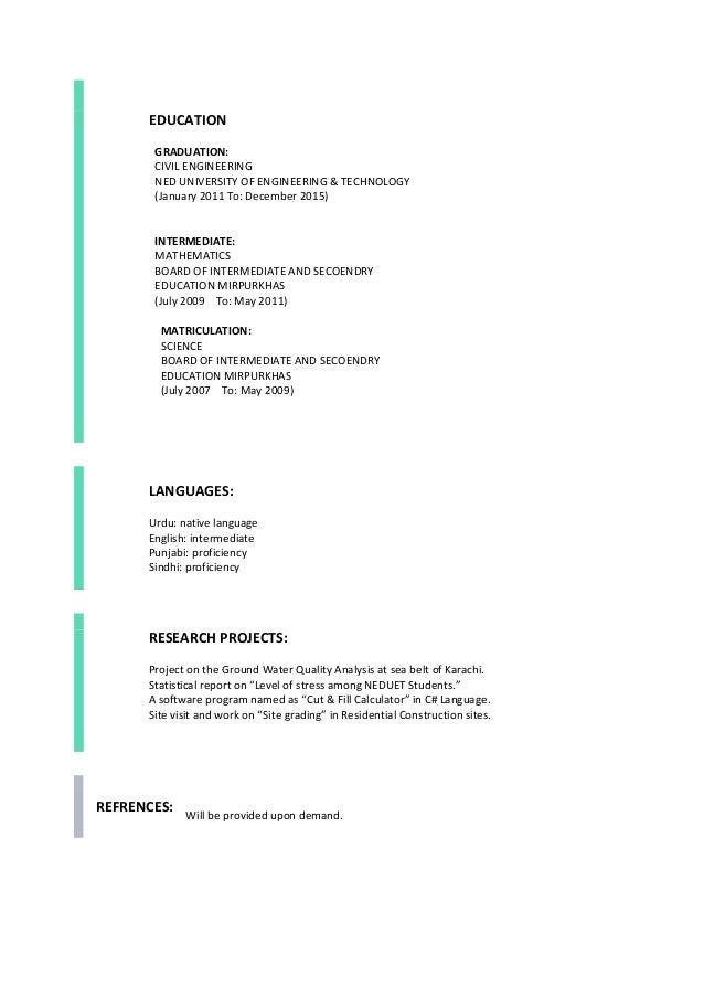 Civil engineering cover letter student. Custom paper Academic ...