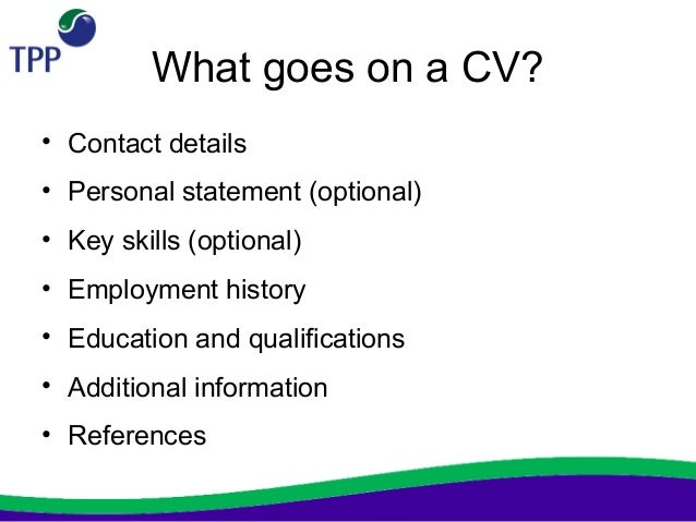 CV Layout Character Fonts Personal Details CV Template Profile How To List  Your Linkedin Link On  What Goes On A Resume