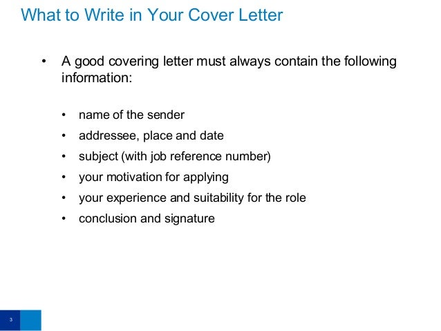 email covering letter for cv