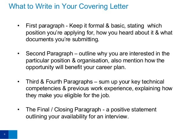CV Tips: Doing Covering Letters the Right Way