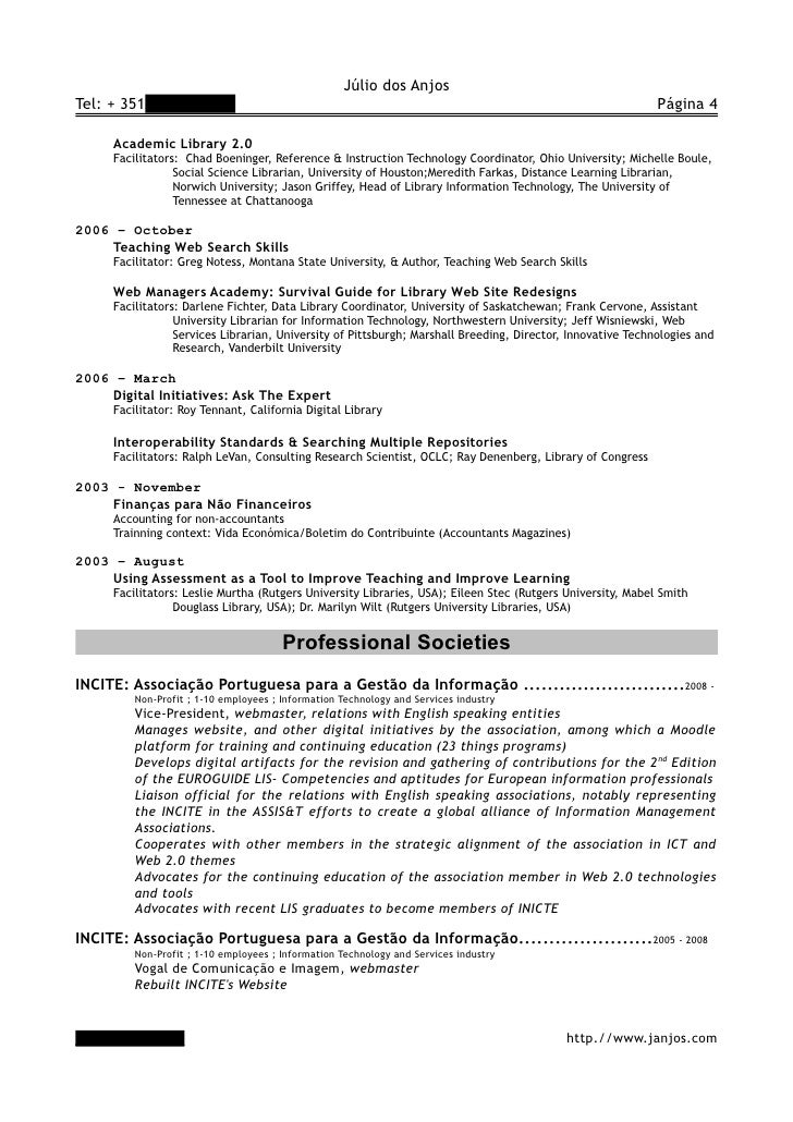 cv in english  long form