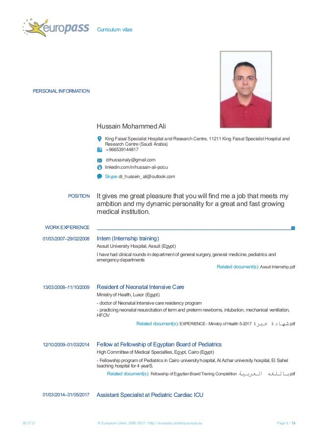 curriculum-vitae-1-638  Page Curriculum Vitae on philippines sample, samples for church, personal statement, sample academic cv templates, english template, examples for professors, resume example,