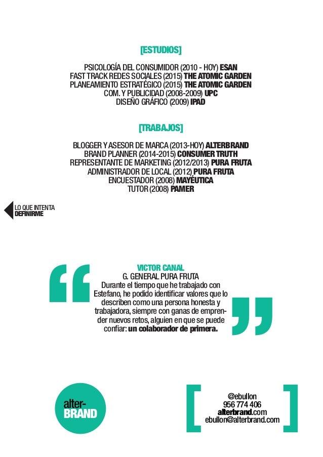 Curriculum Vitae - Estefano Bullón
