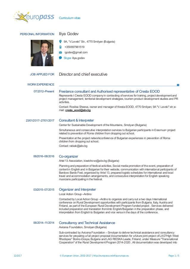 Management buy in presentation