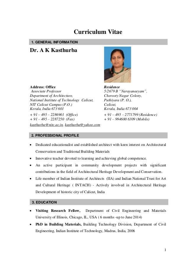 resume for a teacher