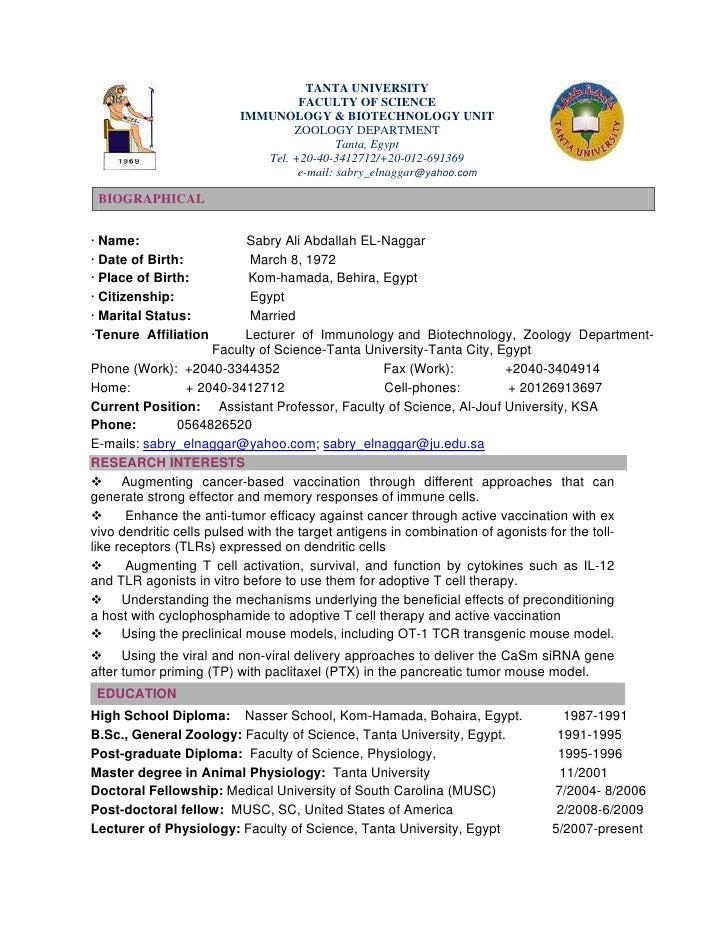 resume format for biotechnology freshers cover letter for