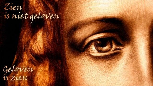 Niet zien en toch geloven –o God, als Jij mij helptdan zal ik Jou toch loven,hoezeer ik, overstelptdoor allerhande plagen,...