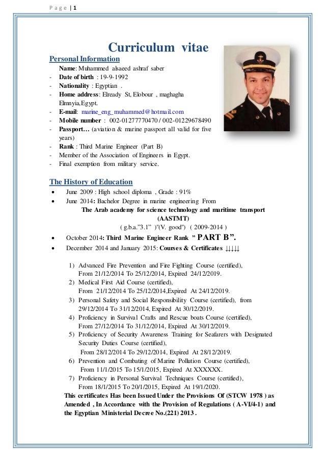 update my resume