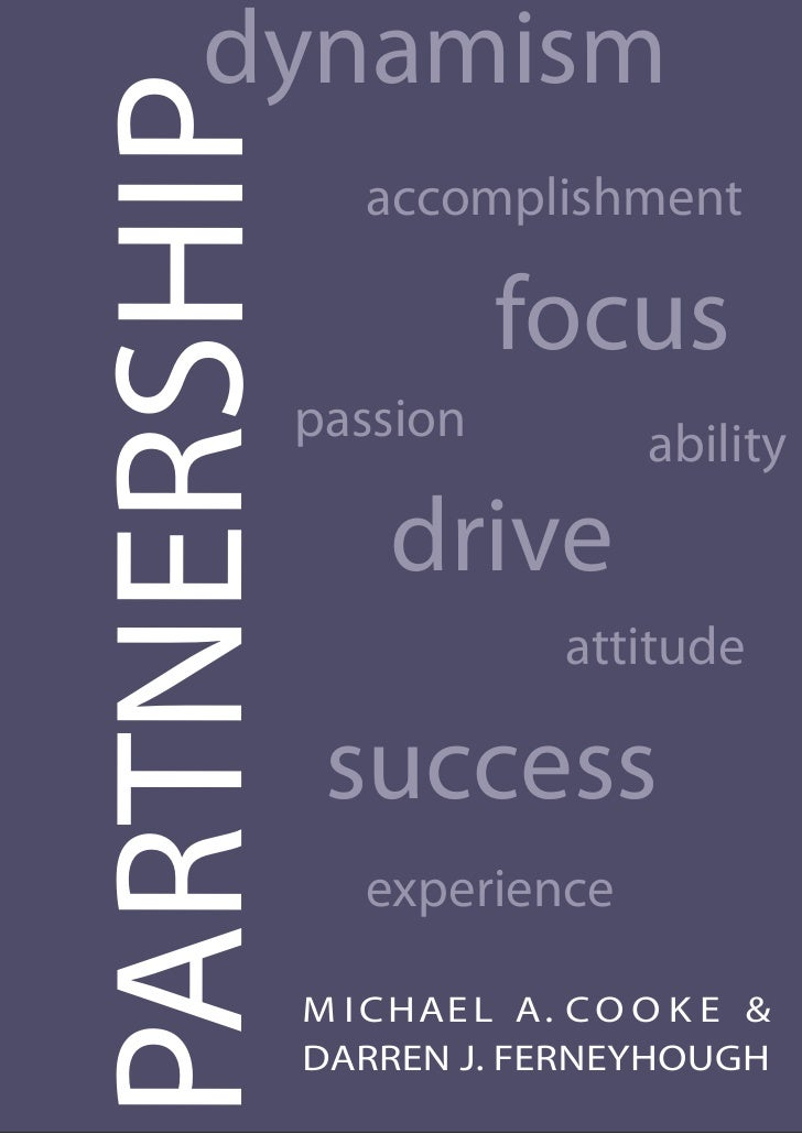 dynamism PARTNERSHIP      accomplishment                           focus               passion             ability        ...