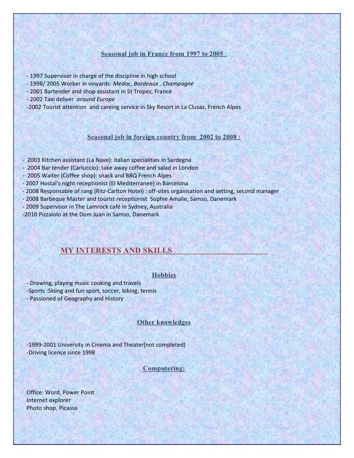 cv2010 anglais pdf