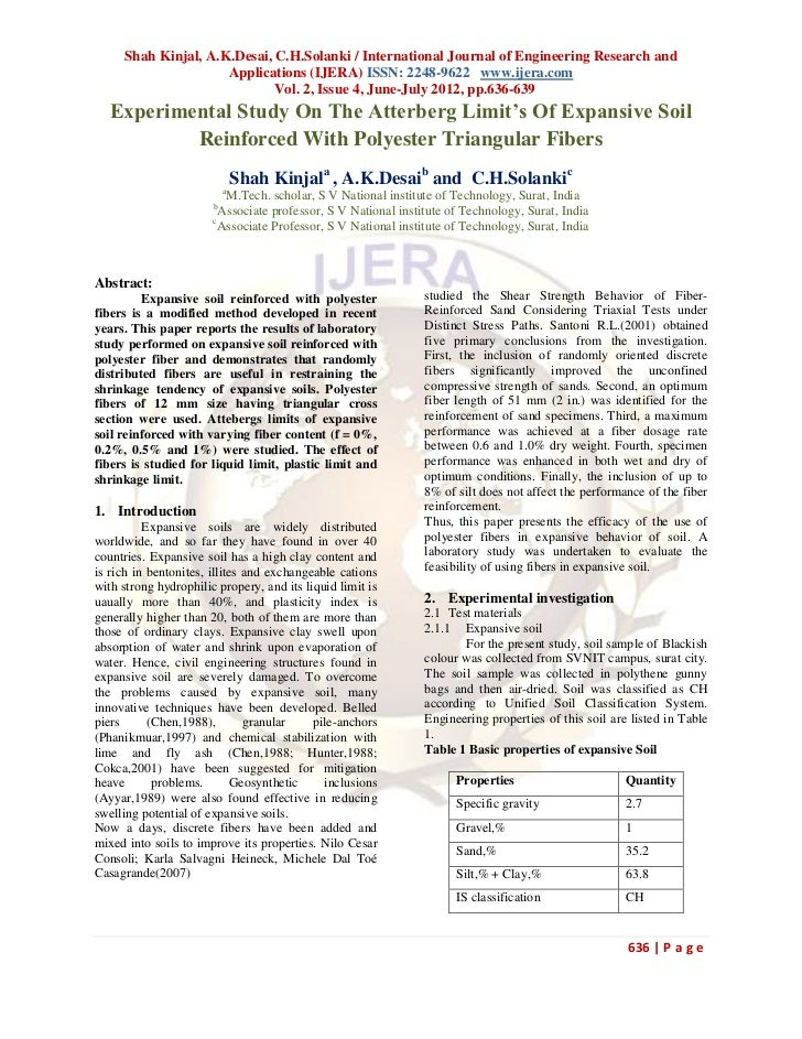 Shah Kinjal, A.K.Desai, C.H.Solanki / International Journal of Engineering Research and                     Applications (...