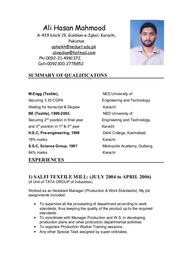 Resume Block Format Business Letter Definition Template