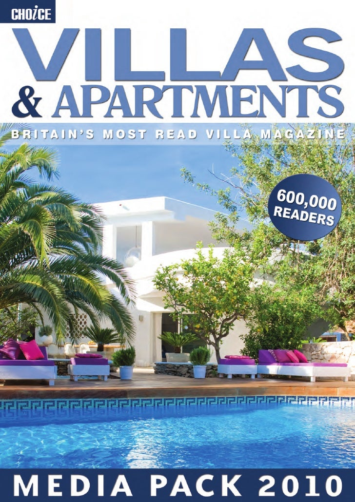 Choice Villas & Apartments Media Pack 2010