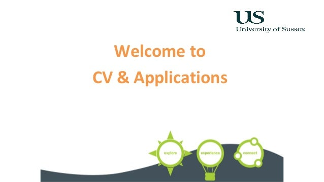 Welcome to CV & Applications