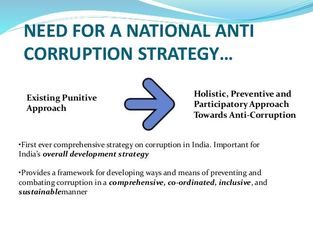 EXAMPLES OF NATIONAL ANTI-CORRUPTION STRATEGIES