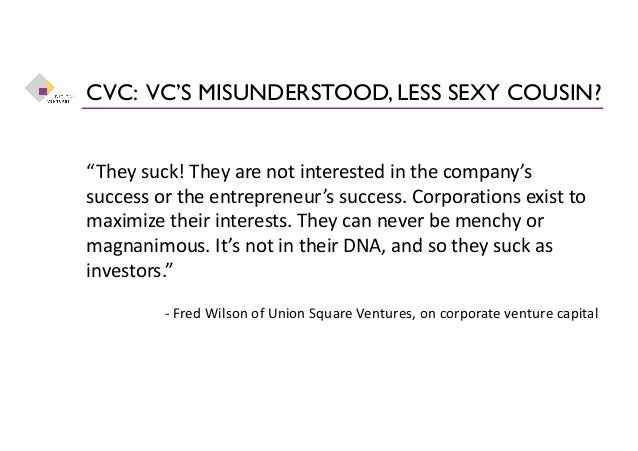 Business Opportunity Through Corporate Venture Capital Slide 2