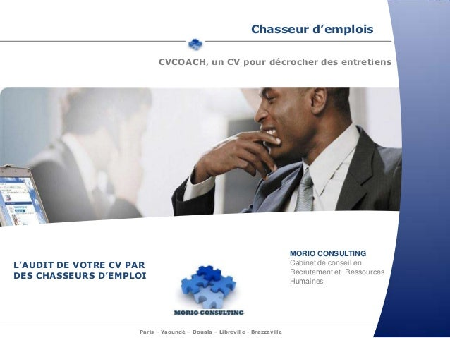 Chasseur d'emplois                           CVCOACH, un CV pour décrocher des entretiens                                 ...