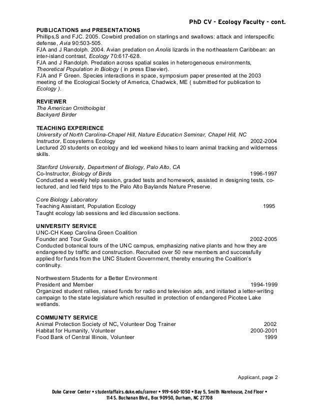 cv document collection