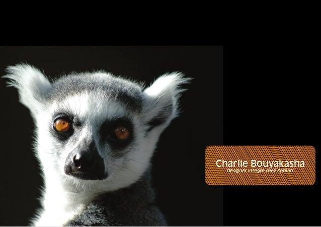 Charlie Bouyakasha  Designer intégré chez Zoblab.