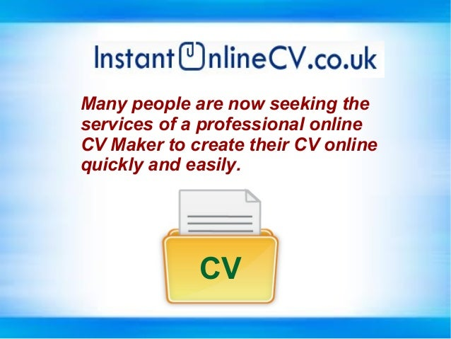 online cv creator