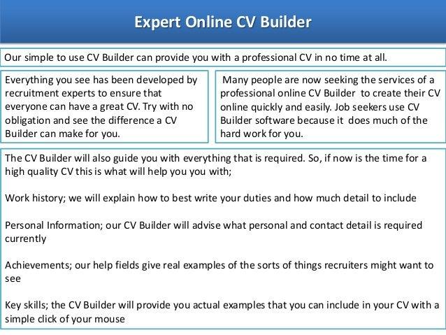online cv creater