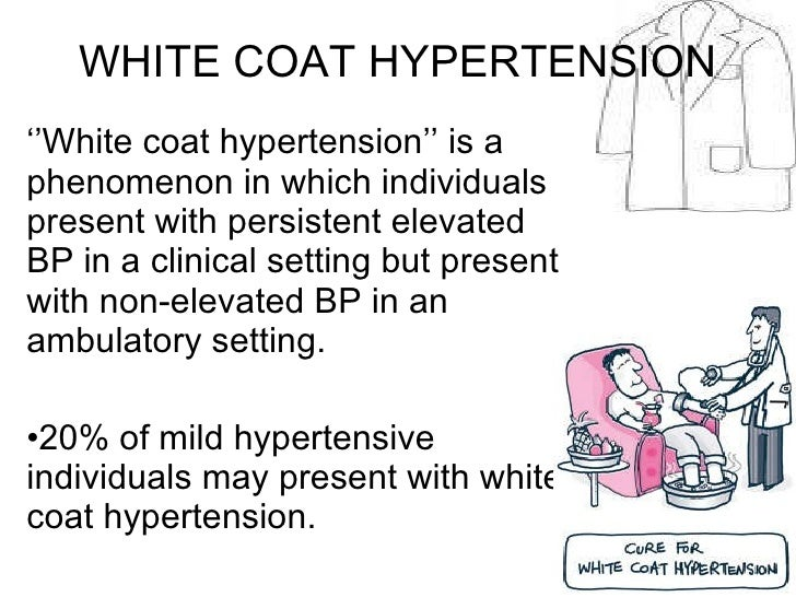 White coat effect hypertension – Novelties of modern fashion photo ...