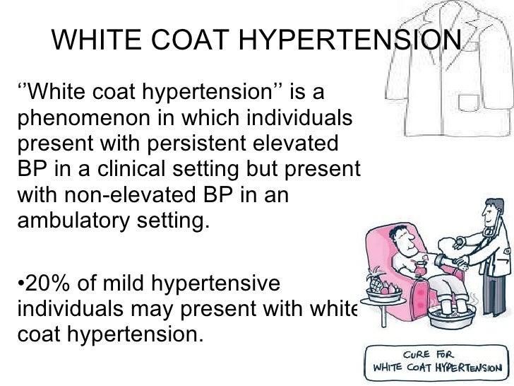White coat effect hypertension – Novelties of modern fashion photo ...