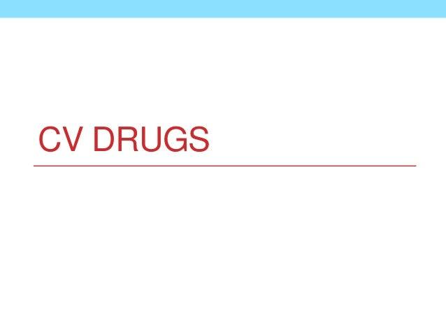 CV DRUGS