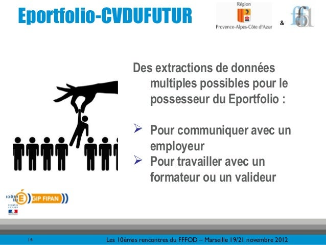 Eportfolio-CVDUFUTUR                                                 &                   Des extractions de données       ...