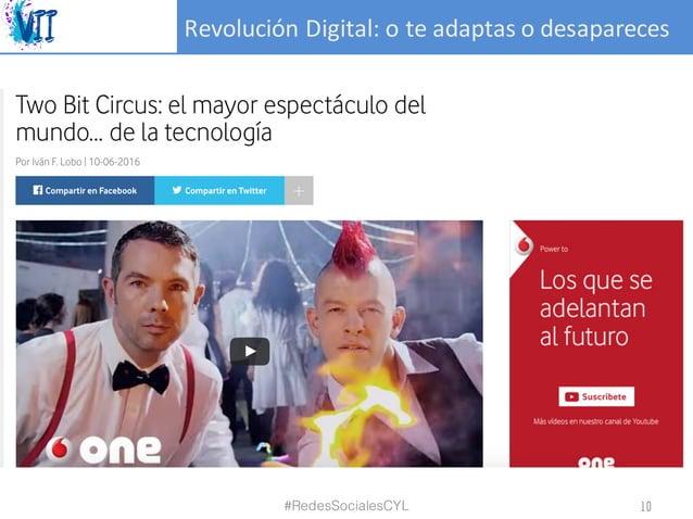 RevoluciónDigital:oteadaptasodesapareces #RedesSocialesCYL 10