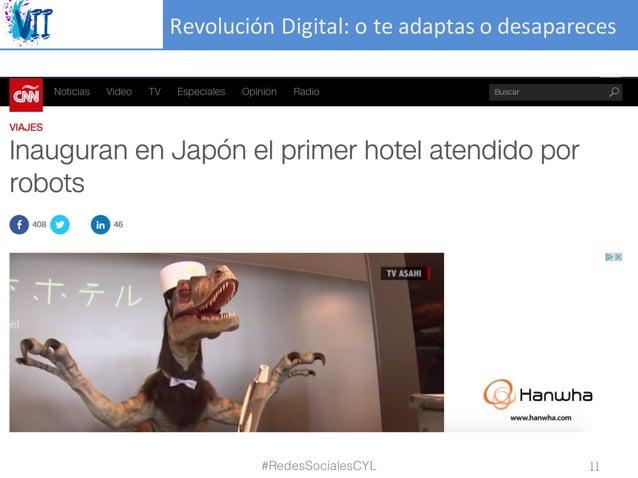 RevoluciónDigital:oteadaptasodesapareces #RedesSocialesCYL 11