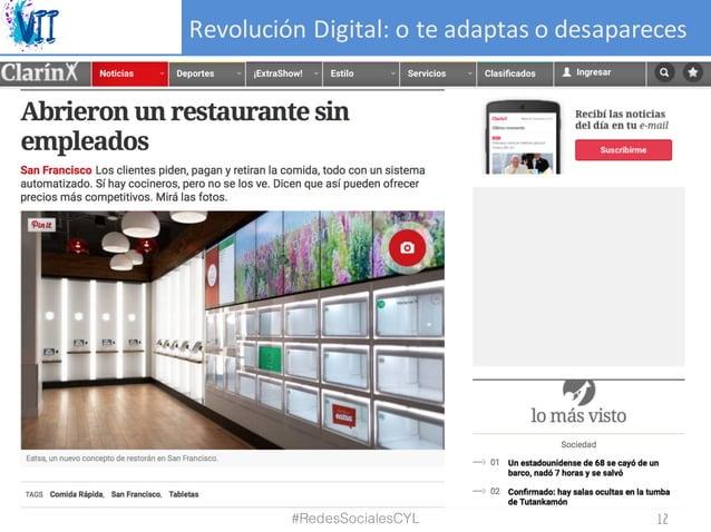 RevoluciónDigital:oteadaptasodesapareces #RedesSocialesCYL 12
