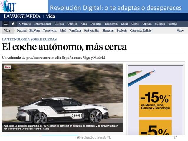 RevoluciónDigital:oteadaptasodesapareces #RedesSocialesCYL 17