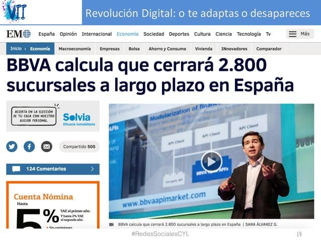 RevoluciónDigital:oteadaptasodesapareces #RedesSocialesCYL 19