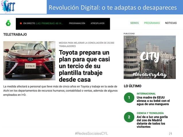 RevoluciónDigital:oteadaptasodesapareces #RedesSocialesCYL 24