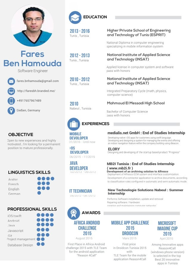 inspiring ideas ios developer resume 12 android developer