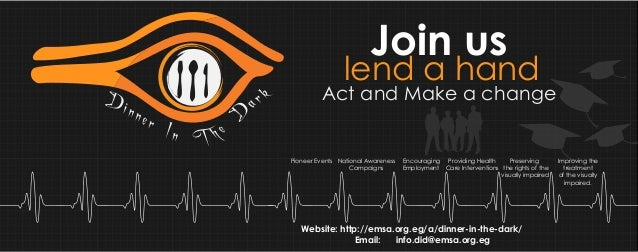 Join us  ar  ner  k  Act and Make a change  D  Din  lend a hand  In T h e  Pioneer Events National Awareness Campaigns  En...