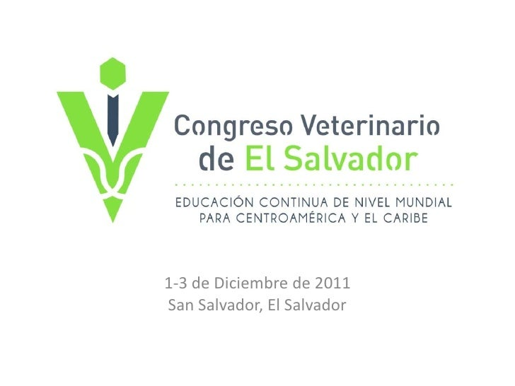 1-3 de Diciembre de 2011<br />San Salvador, El Salvador<br />