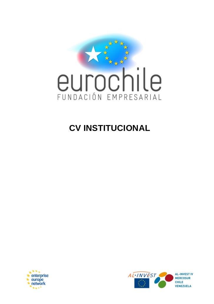 CV INSTITUCIONAL
