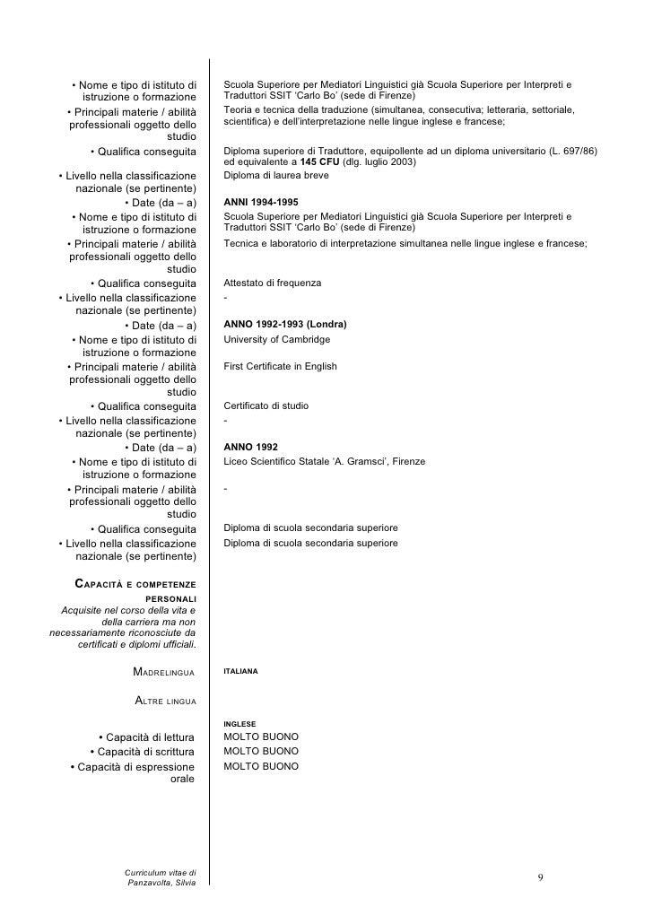 cv europeo silvia2011 public